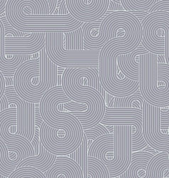 Round-lines-pattern-grey vector