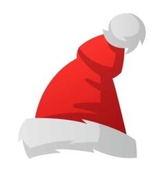 Santa christmas hat vector