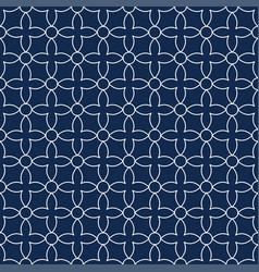 Seamless ornamental pattern - simple design vector