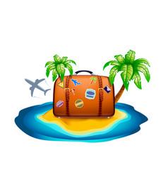 Travel case vector