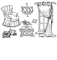 furniture first sofa vector image
