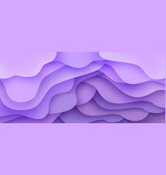Abstract background wave motion flow purple vector