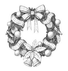 Christmas hand drawn - vector