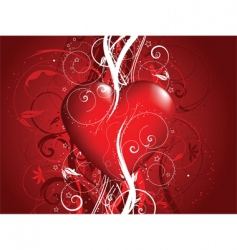 decorative valentines vector image