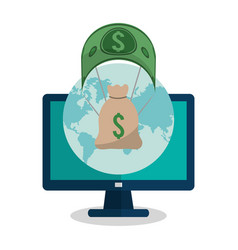 Economy or money related icons image vector