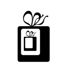 gift inside gift icon wrapped present wit vector image