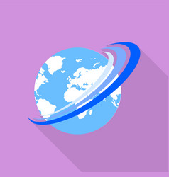 global move icon flat style vector image