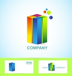 Real estate business corporate logo icon vector