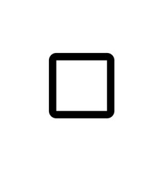Stop icon pause sign player symbol vector