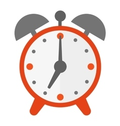 Clock watch alarm icon vector image