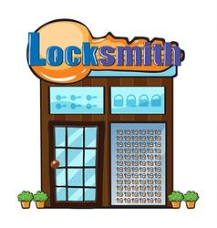 Locksmith vector image