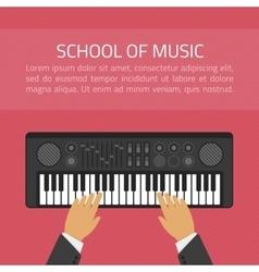 School of music vector