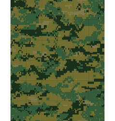 military camouflage tileable vector image vector image