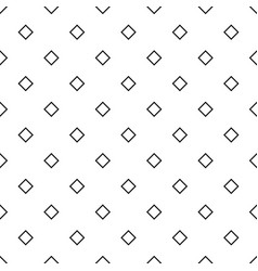 Abstract monochrome repeating square pattern vector