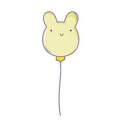 balloon animal shaped vector image