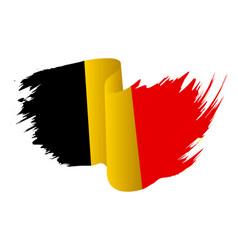 belgium flag symbol icon design belgian flag vector image