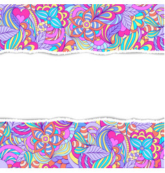 Colorful abstract pattern vector
