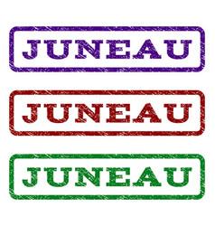 juneau watermark stamp vector image