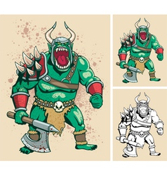 Orc vector image