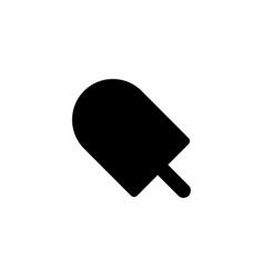 Popsicle ice cream icon vector