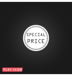 Special Price Icon vector