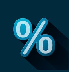 Volume icons symbol percent sign vector