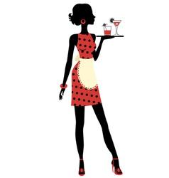 Waitress vector