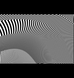 Zebra design black and white stripes vector