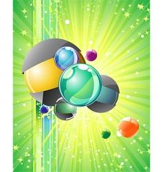 big bang vector image vector image