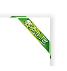 sale sheet tag vector image vector image