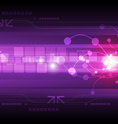 abstract digital technology background vector image
