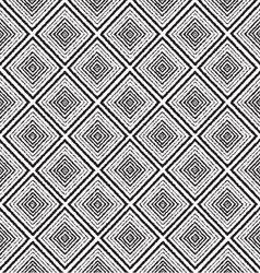 monochrome tribal ethnic seamless pattern vector image
