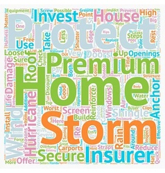 Protect your home from florida s storms and vector
