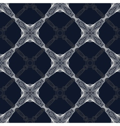 1930s geometric art deco modern pattern vector image