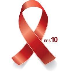 AIDS ribbon EPS10 vector image