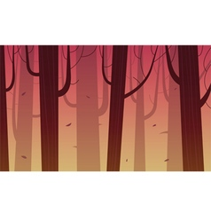 Cartoon Forest vector image
