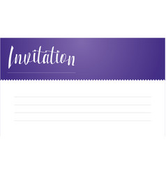 Collection of invitation card style vector