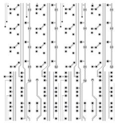 network scheme vector image