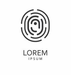 o letter logo icon vector image