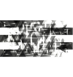 pattern of plates of silver and metal in gray vector image