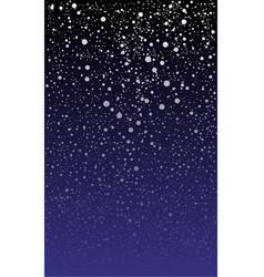 Snowy backdrop vector