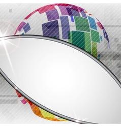 Colorful Globe Design vector image