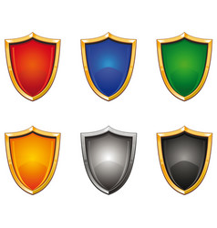 shields 001 vector image vector image