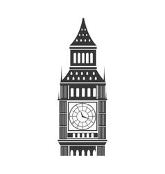 big ben london vector image