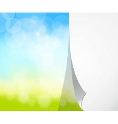 blurred natural background vector image