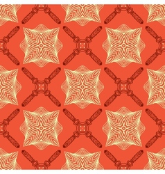 Linear elegant pattern with medieval look vector