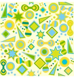 seamless abstract bright background vector image