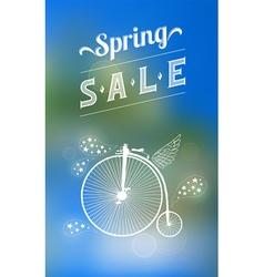 Spring sale banner 003 vector image