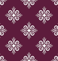 Uzbek pattern Traditional national pattern of vector image