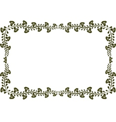 frame9 vector image vector image